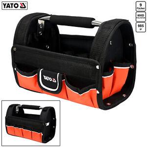 Werkzeugtasche Werkzeugkoffer Elektriker Tasche Werkzeug Montagetasche mit Griff