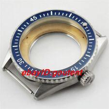 43mm Brushed Steel Watch Case Fit Miyota 8205/8215,ETA 2836/2824 Mingzhu DG2813