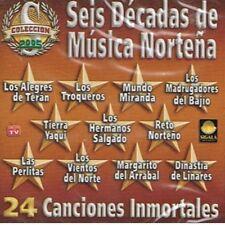 Los Alegres De Teran, Los Troqueros, Terra Yaqui Seis Decadas de Musica Nortena
