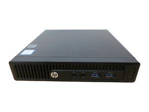 HP 260 G2 Mini DM, Intel Core i3-6100U, 8 GB Ram, 500 GB SSD  Windows 10 pro.