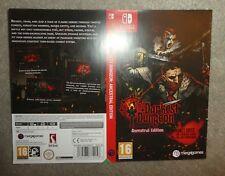 NO GAME Nintendo Switch  Darkest dungeon replacement promo Sleeve shop display
