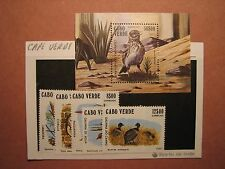 Cape Verde Stamp Scott# 436-41 Birds MNH C49