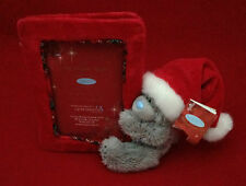 2 X ME TO YOU  TATTY TEDDY FOR SOMEONE SPECIAL XMAS HAT BEAR FRAME CHRISTMAS