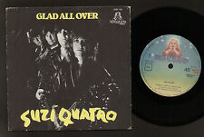 "7"" SUZI QUATRO GLAD ALL OVER/ EGO IN THE NIGHT MADE IN PORTUGAL 1980 DREAMLAND"