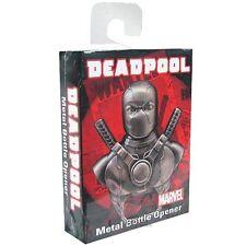 Deadpool Marvel Comics Licensed Metal Bottle Opener