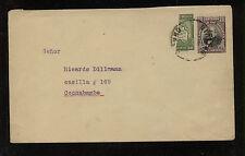 Bolivia  uprated postal envelope with biscet stamp  Cochabamba    AL0506