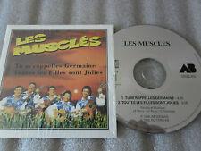 CD-LES MUSCLES-TU M'RAPPELLES GERMAINE-LES FILLES SONT JOL(CD SINGLE)1994-2TRACK