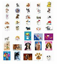 Personalized Cute Dogs  Return Address Labels Buy 3 get 1 free (cd2)