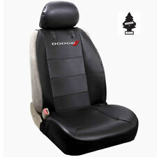 Brand New Dodge Synthetic Leather Sideless Car Truck Front Seat Cover with Gift