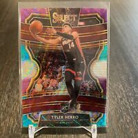 2019 PANINI SELECT TYLER HERRO RC #63 TRI COLOR CONCOURSE PRIZM RC