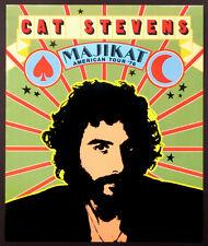 Cat Stevens Vintage Original Majikat Tour Poster 1976