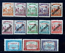 Hungary stamps French occupation 1919 SZEGED overprint **/* - $165