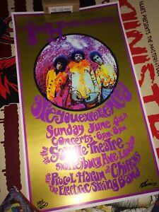 Jimi Hendrix Experience Saville Theatre 1967 2nd edition Karl Ferris #235/400