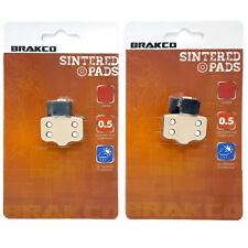 BRAKCO Sintered Disc Brake Pads AVID DB, AVID ELIXIR, SRAM XX, SRAM XO Series