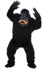 Adult Goin' Bananas! Gorilla Full Suit Costume One Size