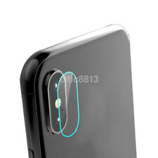 New 9H Hardness Back Camera Lens Tempered Glass Film Protector Set For iPhone X