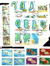 Tuvalu kiloware - 69 different stamps, in sets from First Day Covers (67Q)