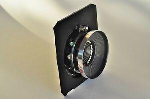 Linhof Technika 70 6x9 6mm recessed hat lens board Compur #00 26.5mm