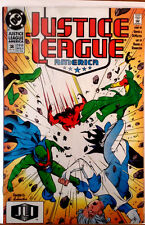 Justice League America #38 Keith Giffen (DC 1990)