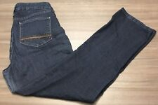 NYDJ Not Your Daughters Jeans Womens Stretch Straight Lift Tuck Sz 12 31W x 31L