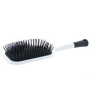 Elegant Brushes Paddle Brush - White
