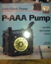 Little Giant 523086 P-AAA Pump