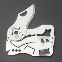 Messer Multi-Tool Scheckkarte|EDC für Geldbörse |Outdoor Survival Notfall-Gadget