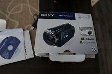 Sony HDR-CX500V 32GB HD Flash Memory Handycam Camcorder + Freebies + GPS