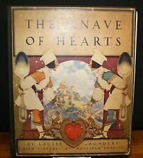 THE KNAVE OF HEARTS BY LOUISE SAUNDERS - ILLUSTRATED BY MAXFIELD PARRISH-1925 HC