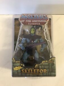 Masters Of The Universe Classics: Skeletor The Original By Mattel W/ Protector