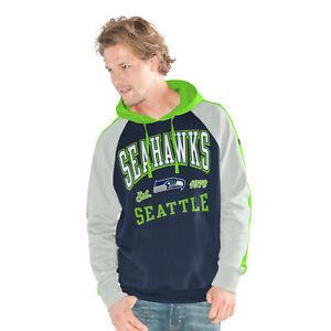 G-III Sports Seattle Seahawks Men's The Closer Pullover Hoody Sweatshirt