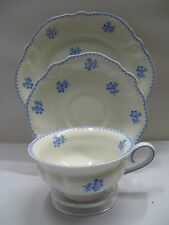Rosenthal Viktoria blaue Blumen: Kaffeegedeck 3 teilig - Sammeltasse