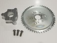 """1.5"""" Hub 415 Chain CNC 50T Sprocket With Adapter 49cc-80cc  Motorized Bicycle"""