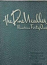 """1941 """"Pine Needles"""" - Univ. of NC at Greensboro Yearbook-ALL NAMES IN LISTING! +"""