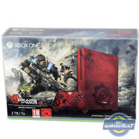 1 x BOX PROTECTOR for Xbox One S Slim Games Console 0.5mm PLASTIC DISPLAY CASE