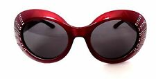 New Vintage Series Retro Look Ladies FOSTER GRANT SUNGLASSES Case Box Ruby & CZ