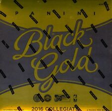2016/17 Panini Black Gold Collegiate NCAA Basketball Hobby Box (2 Pack s-Sealed)