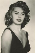 Sophia Loren par Levin Vintage silver print Tirage argentique  9x12  Circa