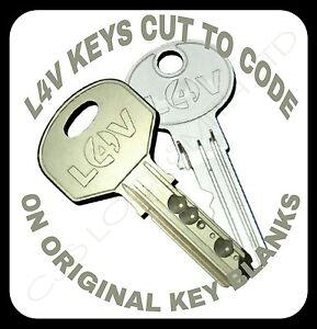 locks 4 vans keys cut to code. L4V Keys cut to code. locks4vans. Van keys cut