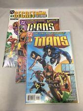 The Titans # 1 & 2 & Secret Files & Origins Dc Comics 1999 3 Comic Lot Vf/Nm