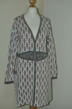 GUDRUN SJODEN boho folk long cardigan size L, UK 14-16, EUR 42-44