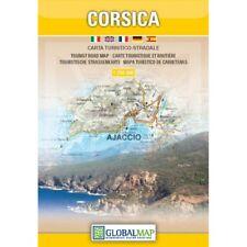 CORSICA CARTINA TURISTICA STRADALE 1:250 000 [CARTA/MAPPA] GLOBAL MAP