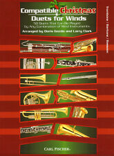 Compatible Christmas Duets Winds Trombone Bassoon Posaune Fagott Baritone Noten