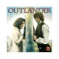 OUTLANDER OFFICIALLY LICENSED 2019 16 MONTH WALL CALENDAR FREE SHIPPING USA