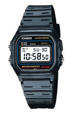 Boys Casio Sports Watch Digital Display Calendar Black Plastic Strap W59-1v