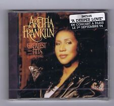 CD (NEW) ARETHA FRANKLIN GREATEST HITS 1980-1994