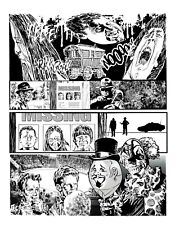 BLOKE'S TERRIBLE TOMB OF TERROR #12 'JOKE'S ON YOU' PG 10 ART BY ROB MORAN