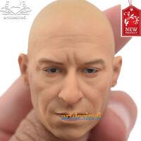 Kumik 1/6 Bald Head Van Diesel Head Sculpt KM16-73 for 12'' Male Body Figure
