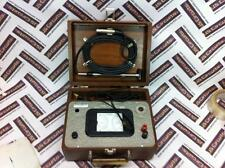 VINTAGE HASTING AIR METER MODEL H-2 WITH PROBE AND beautiful wood case