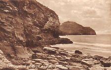 TINTAGEL CORNWALL UK LYE ROCK~BOSSINEY BAY FRITH'S #69682 POSTCARD